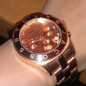 ✔️ GORGEOUS Rose Gold Marc Jacobs Watch 🌹